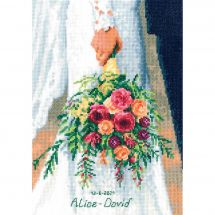 Kit Punto Croce - Vervaco - Bouquet della sposa