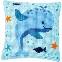 Kit cuscino fori grossi - Vervaco - Piacere della balena