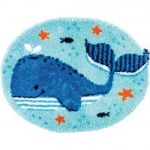 Kit tappeto a punto smirne - Vervaco - Piacere della balena