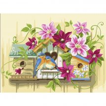Kit di pittura per numero - Vervaco - Piccole cassette di nidificazione