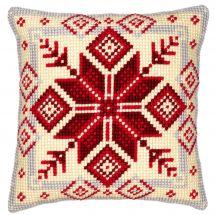 Kit cuscino fori grossi - Vervaco - Cristallo nordico