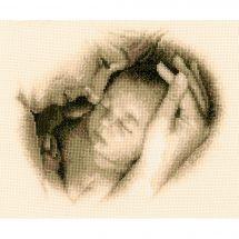 Kit Punto Croce - Vervaco - Madre e bambino