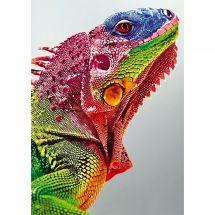 Kit ricamo diamante - Wizardi - Iguana
