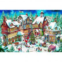 Kit ricamo diamante - Wizardi - Agitazione di Natale