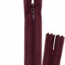 Chiusura non separabile - invisibile - Prym - Chiusura lampo ® Bordeaux - 22 cm